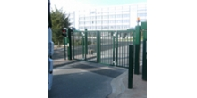 Складные ворота QFG